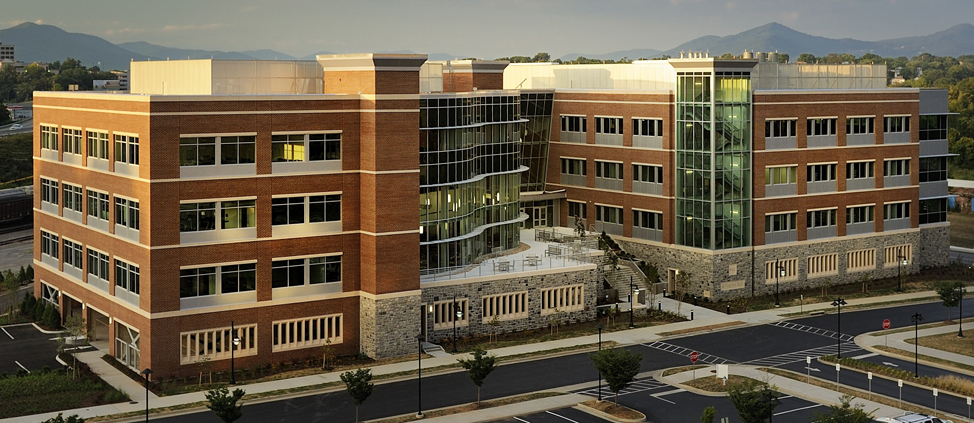 New Medical Center in Roanoke, Virginia